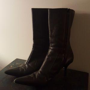 Boots Side Zipper